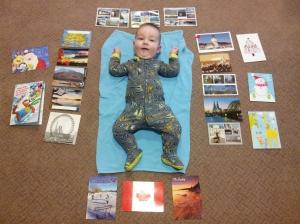 International Postcards!