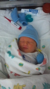 New born Logan