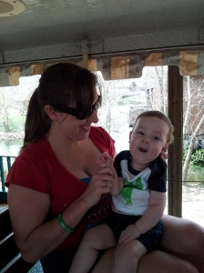 First train ride! <3 Chugga Chugga Choo Choo!